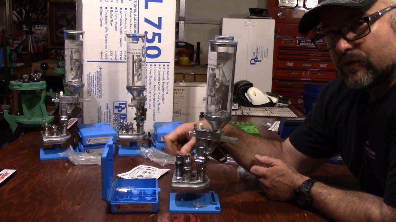V3 Dillon XL750, Unboxing and Set Up, Quick Change Unboxing