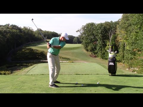 how to draw and fade a golf ball