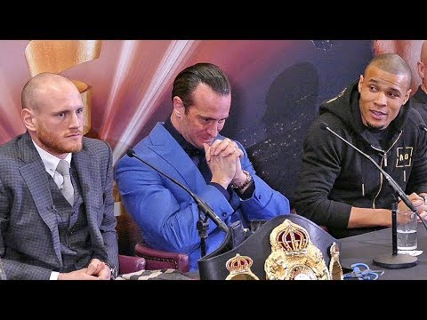 George Groves vs Chris Eubank Jr FINAL PRESS CONFERENCE | Super Series Semi Final