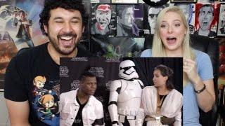 John Boyega Pranks Star Wars Fans Surprise Photobomb at Celebration | Force For Change REACTION!!!