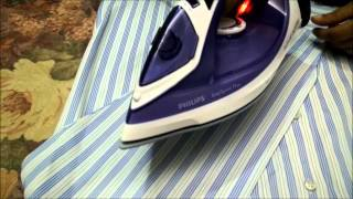 Philips Easy Speed Iron | Philips GC2048 | Philips Steam Iron Demo and Review by Happy Pumpkins