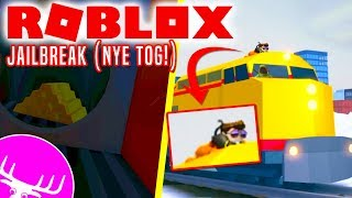 RØVER TOGET MED FANS OG DME! - Roblox Jailbreak Train Robbery Dansk Ep 9