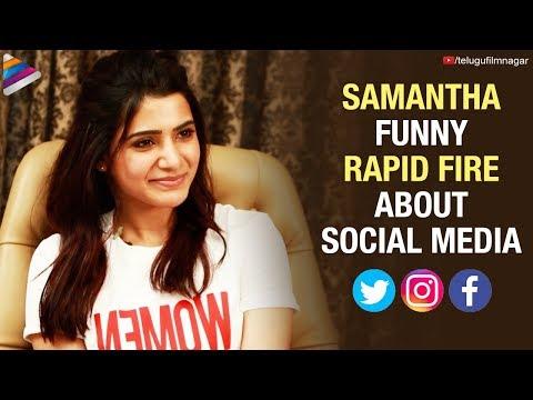 Samantha FUNNY RAPID FIRE about Social Media | Samantha Akkineni Latest Interview | Telugu FilmNagar Mp3