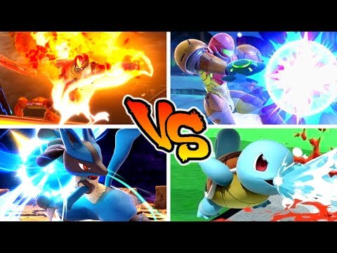 Super Smash Bros. Ultimate - Who has the Strongest Neutral Special Move? thumbnail