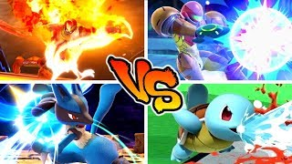 Super Smash Bros. Ultimate - Who has the Strongest Neutral Special Move?