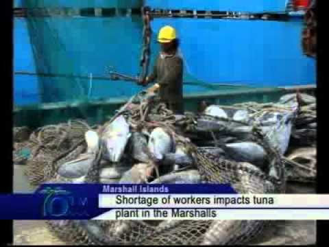 Shortage Of Workers Impacts Tuna Plant In The Marshalls