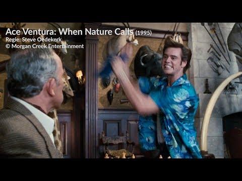 Anschlussfehler Beispiel: Ace Ventura - Jetzt wird's wild (1995)