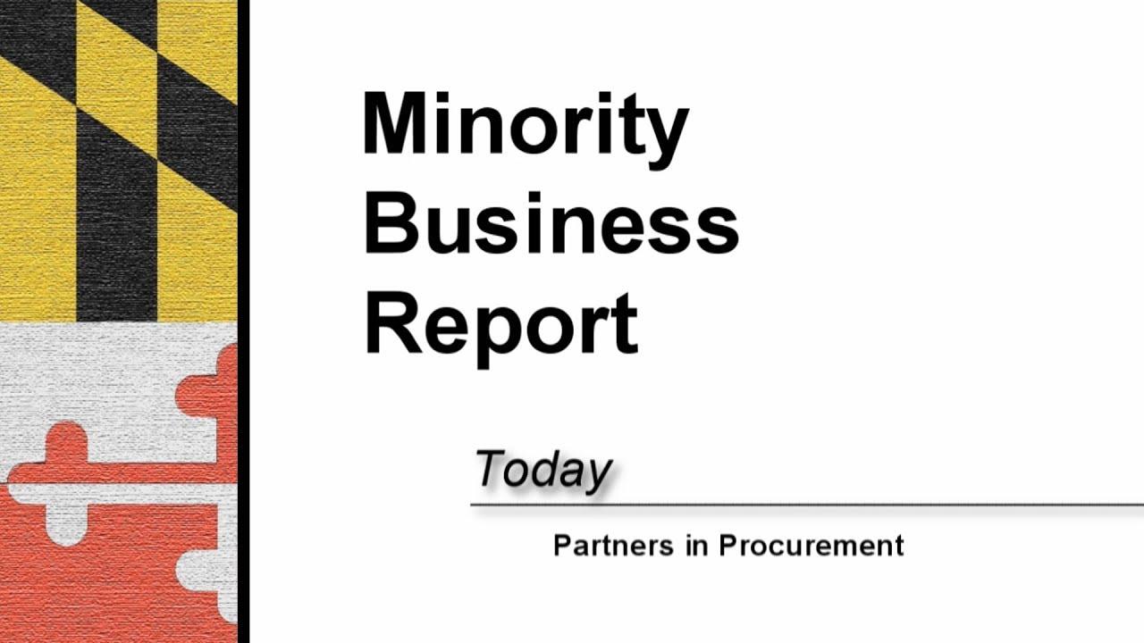 Minority Business Enterprise Program | Anne Arundel County, MD