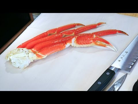 Cleaning Snow Crab Legs Fine Dining Style