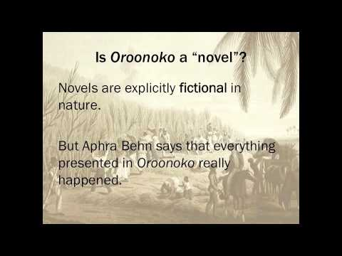Oroonoko and the Rise of the Novel