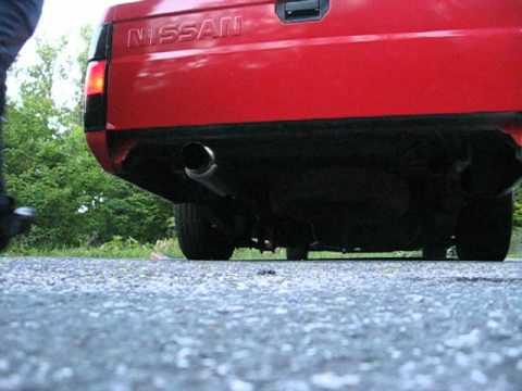 Full Exhaust On My Nissan Hardbody An Led Foglights