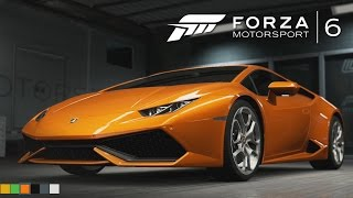 Forza Motorsport 6 Gameplay - NIGHT GAMEPLAY (Lamborghini Huracan)
