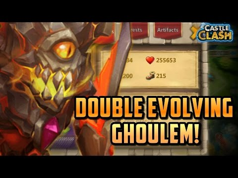 Double Evolved Ghoulem! More Than 250,000 Health! Castle Clash