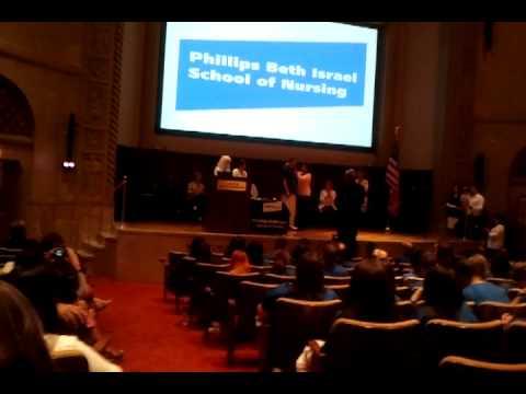 Jay's Pinning At Beth Israel School Of Nursing 5.29.12