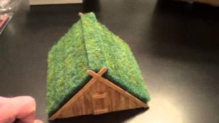 A frame Dark Age hut