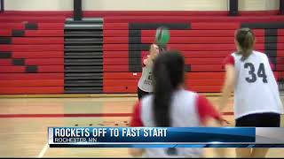 Rockets girls basketball off to undefeated start