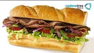 Receta De Sandwich De Roast Beef Con Aderezo De Blue Cheese. Receta De Roast Beef