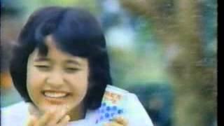 1982年の三田寛子のカルピスソーダのCM。