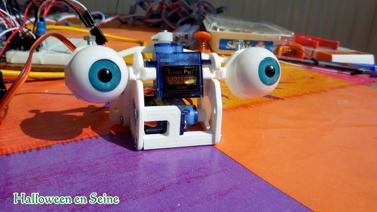 Animatronic Eyes and Arduino