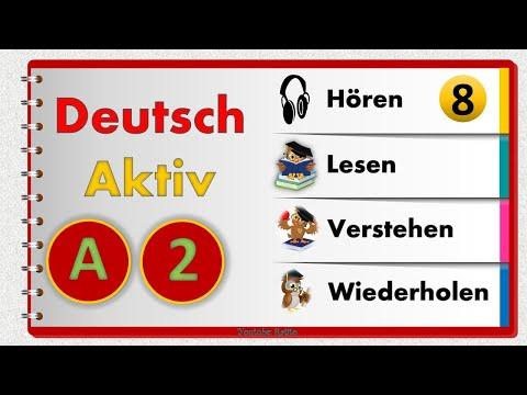 Deutsch Aktiv 8  Leicht A2