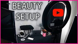 HOW TO: Set Up a Beauty Studio at home | Beauty Videos+ Tips and Hacks