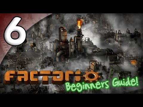 Factorio Beginner's Guide - 6. Attacking the Enemy - Let's Play Factorio Gameplay
