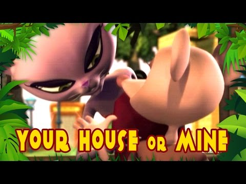 Your House Or Mine - Panch - Animated Stories For Kids