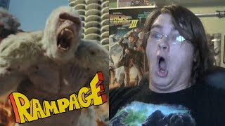 RAMPAGE (2018) TRAILER - Reaction & Thoughts - ANOTHER KING KONG MOVIE???