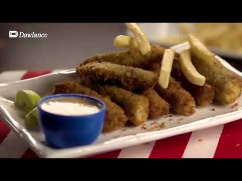 Get Set Cook with Dawlance Airfryer Microwave Oven –Finger Fish Recipe