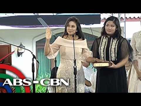 Bandila: Leni remembers Jesse in inauguration speech