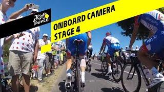 Tour de France 2019: Onboard beelden van etappe 4