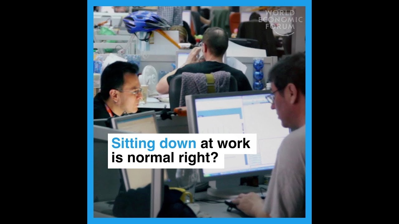 Sitting down at work is normal right?   Here's why it could be dangerous