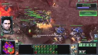 All In (Air Route) Brutal Walkthrough - Starcraft 2: Wings of Liberty