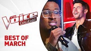 BEST OF MARCH 2021 in The Voice