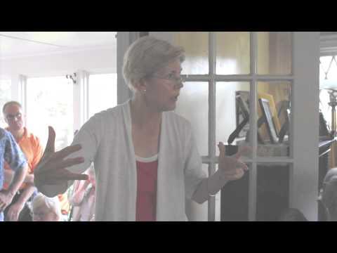 Elizabeth Warren on Debt Crisis, Fair Taxation