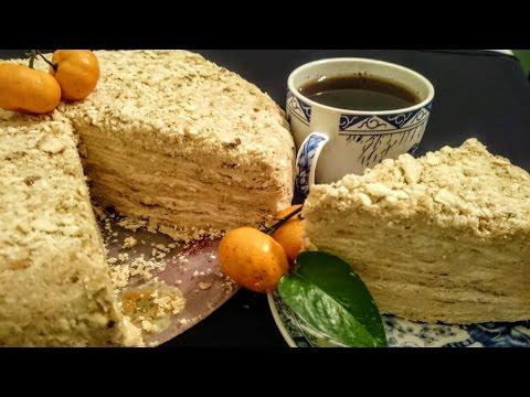 Вкусный Торт Наполеон рецепт Секрета приготовления