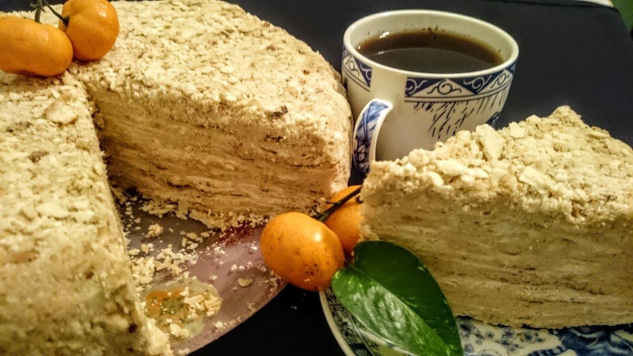 Рецепт изготовления торта наполеон