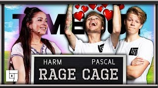 PASCAL FIXT MASSAGE CHICK met Harm in RAGE CAGE | LOG