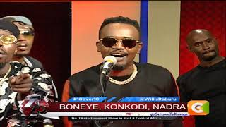 Music Upto the Ten; Boneye, Konkodi, Nadra on the MIC #10Over10