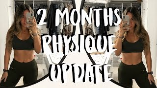 PHYSIQUE UPDATE AND KETO FRIENDLY MATCHA LATTE AND MEALS   GETTING BACK ON TRACK VLOG  5
