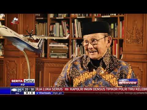 Special Interview BJ Habibie: Jokowi, Pesawat R80, dan My Way #3