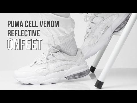 Onfeet Puma Cell Venom Reflective White (369701-02) Review ...