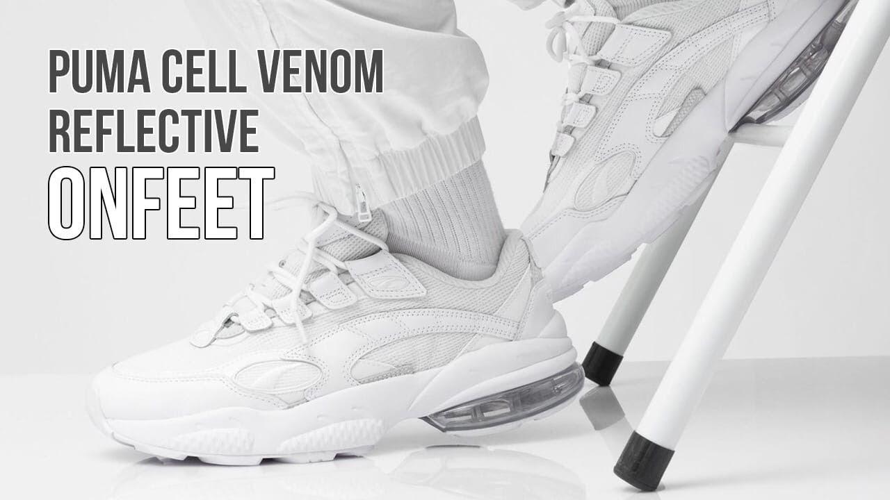 Onfeet Puma Cell Venom Reflective White