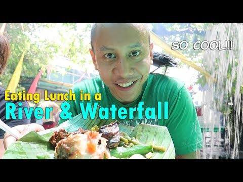WOW! EATING LUNCH IN A RIVER & WATERFALL! | June 13th, 2017 | Vlog #139