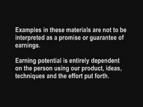 Sample Earnings Disclaimer No 2 Youtube