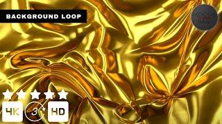 GOLDEN LUXURY ANIMATION BACKGROUND BACKGROUND PARTY 3 HOURS 4k