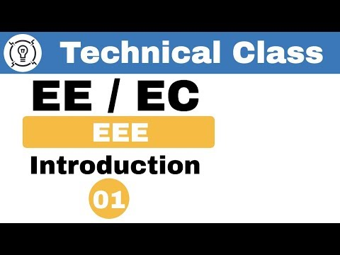 8:00 PM | EE/EC by Anil Sir | Introduction | Technical Classes | Day#01