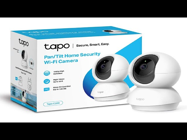 Stop lockdown thieves! Home security. TPLink Tapo WIFI Camera