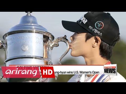 S. Korean 'Super rookie' Park Sung-hyun wins U.S. Women's Open
