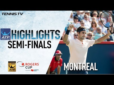 Highlights: Federer, Zverev Win Semis In Montreal 2017